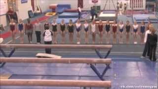 Тренировочный процесс в женской спортивной гимнастике [Гимнастика → Разное](Плейлист «Гимнастика → Разное»: http://youtube.com/playlist?list=PLC6CBAE9D55FA46C1 ::Гимнастика и Экстрим:: http://vk.com/extremegym Все виде..., 2013-03-28T20:28:21.000Z)