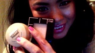 Maybelline New York Dream Matte Mousse Foundation and Fit Me Pressed Powder Review Thumbnail