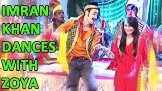 Qubool Hai : Zoya dancing with Imran Khan on the sets
