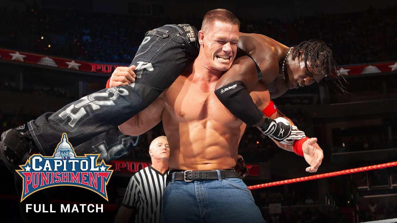 FULL MATCH - John Cena vs. R-Truth - WWE Title Match: WWE Capitol ...