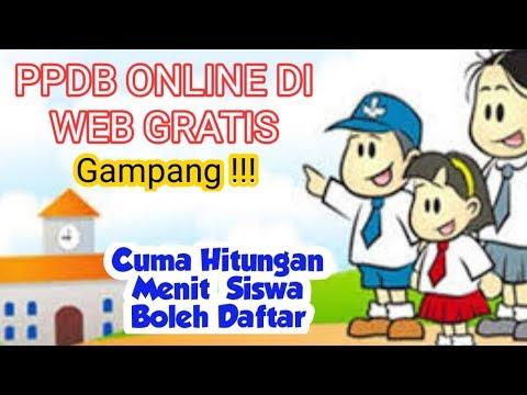 part-2:-cara-buat-website-ppdb-online-secara-gratis,-cepat-hanya-hitungan-detik-siswa-fix-mendaftar
