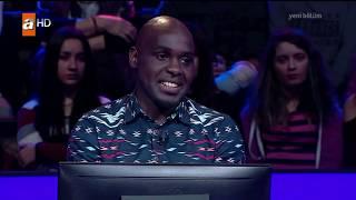 Kim Milyoner Olmak İster? Tanzanyalı doktor Mugisha 60 bin liralık soruyu görünce! - 2017 YENİ