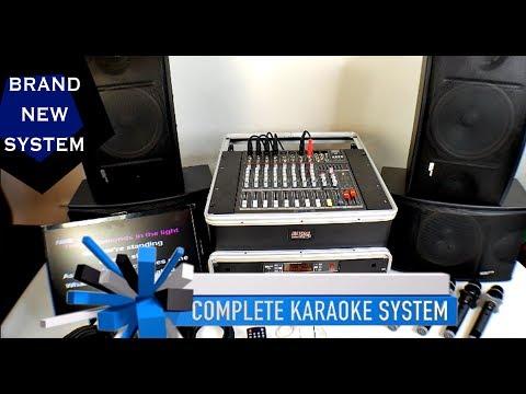 Karaoke System | Professional Karaoke System | RSQ Karaoke Machine | Bluetooth Karaoke Player