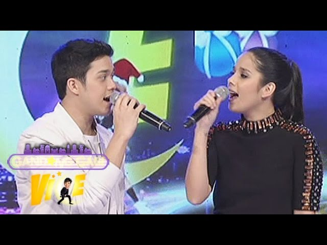 "GGV: Elmo, Maxene sing ""Love The Way You Lie"" on GGV"