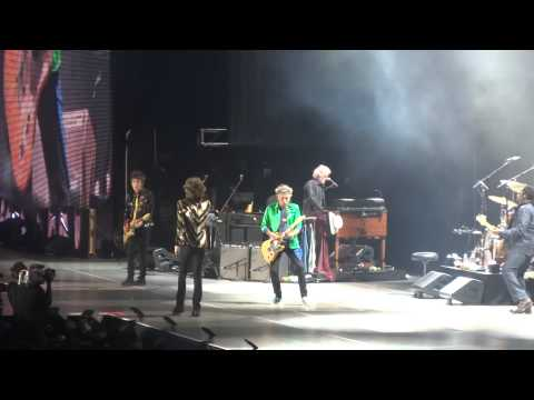 The Rolling Stones - (Intro) Jumpin Jack Flash (LIVE) 6/6/2015 Dallas, TX
