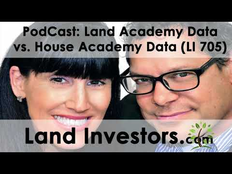Land Academy Data vs House Academy Data (LI 705)