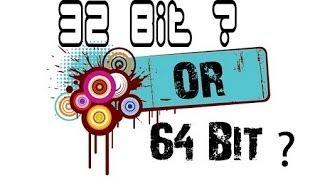 Чем 32 отличается от 64?(, 2014-05-07T10:01:12.000Z)