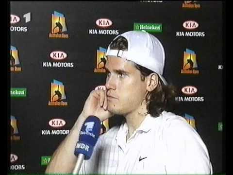 Aussie Open 2002: Haas Interview
