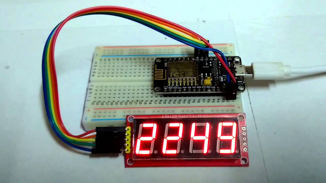 esp8266 NTP Time with 4 digits Module