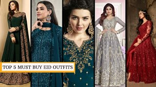 Must have these 5 dress for Eid 2020 Designer collection under 2000 Kreeva Affordable collection