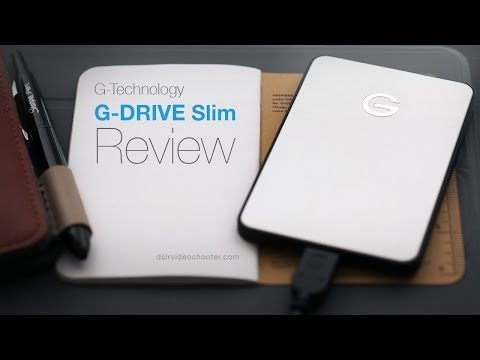 G-Technology G-Drive Slim Review