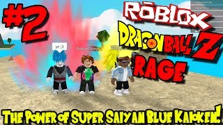 O PODER DO SUPER SAIYAN KAIOKEN AZUL! | Roblox: Dragon Ball Z Rage Remastered-episódio 2
