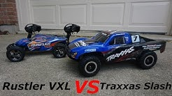 Traxxas Slash 4x4 VS Rustler VXL - (Which on Should you Buy?) - Speed Test and Review