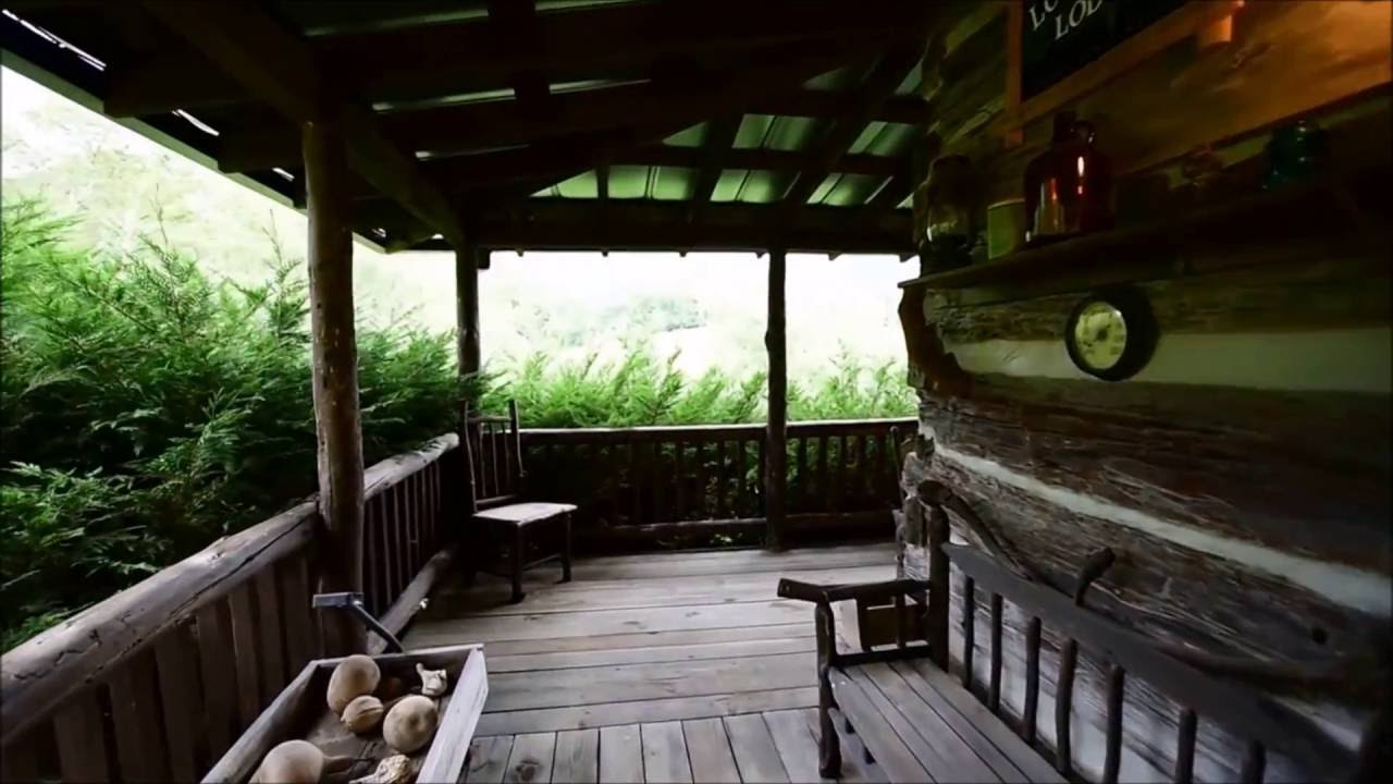 Lone Pine Lodge   A Rental Cabin Walkthrough Near Asheville, NC