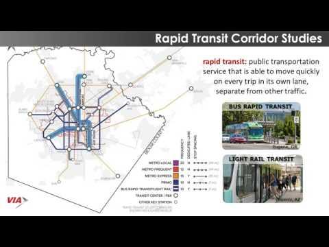 VIA Rapid Transit Corridor Studies Workshop Presentation