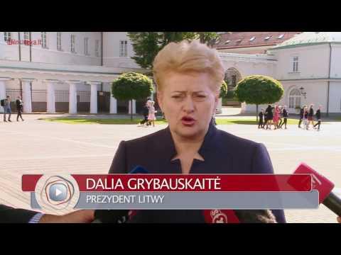 Prezydent Dalia Grybauskaitė spotkała z przewodniczącym Rady Europejskiej Donaldem Tuskiem