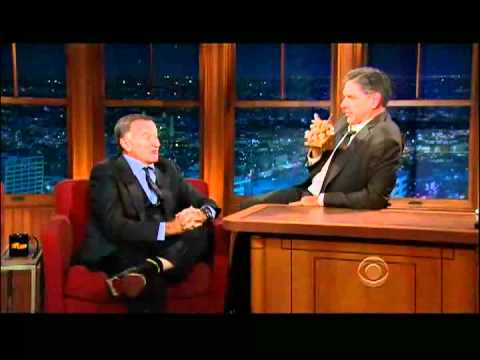 Craig Ferguson 11/17/11D Late Late Show Robin Williams XD