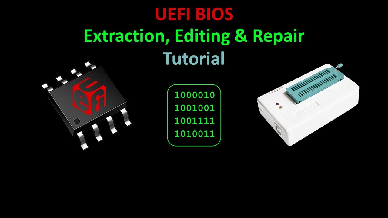 UEFI BIOS Repair Tutorial | Rototron