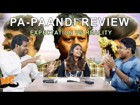 Pa Paandi Movie Review   Expectation Vs Reality   Raj Kiran   Dhanush   Madras Central