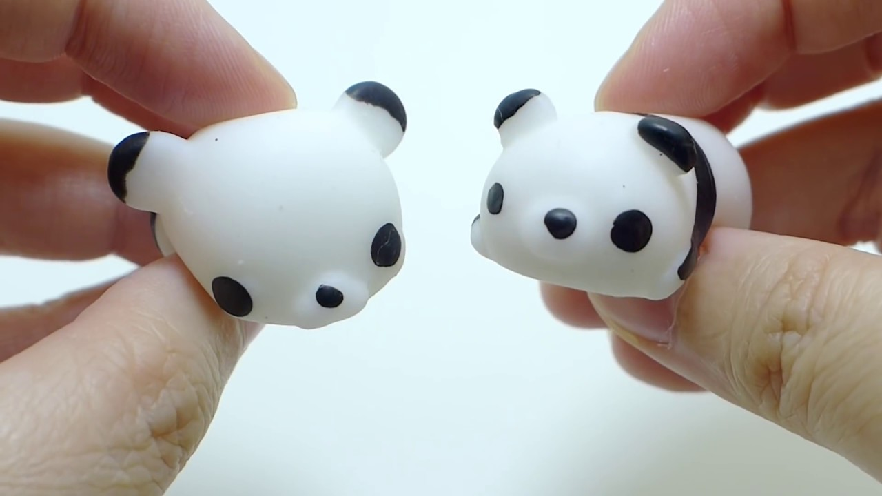 Squishy Stretchy Animals : Huge Mochi Animals Stretchy Squishy Squeeze - YouTube