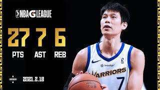 Jeremy Lin Lead 20 Points Comeback From Bench | FORT WAYNE VS SANTA CRUZ | 林书豪G-League 27+7+6主导20分逆转