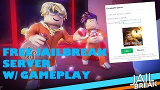 8 FREE JAILBREAK VIP SERVERS - W/ GAMEPLAY - ROBLOX - DAGGER