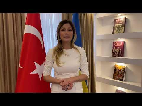 Привітання Першої заступниці Міністра закордонних справ України
