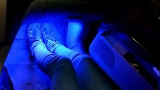 видео Светодиодная лента для авто – как установить своими руками? + Видео