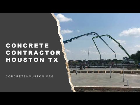 Concrete Contractor Houston TX |  281-607-1414 | Concrete Contractors Houston
