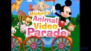 Mickey's Animal Video Parade Mickey Mouse Clubhouse Game