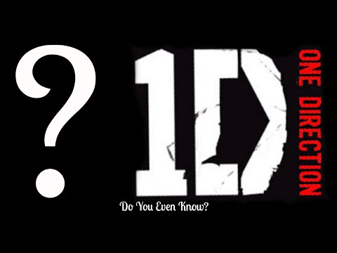 1D CHALLENGE - Do You Even Know One Direction?