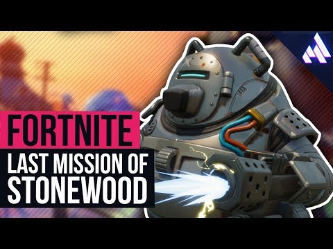 FINAL MISSION of Stonewood! (finally...) | Fortnite
