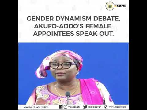 Akufo-Addo Female Appointees thank Nana Addo for the wake-up call