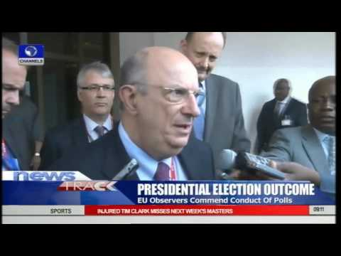 EU Observers Commends Jonathan