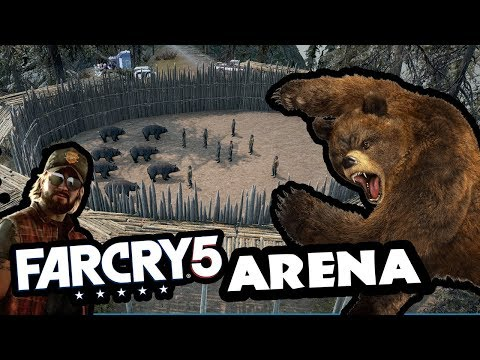 Feeding Prisoners to Bears ! EPIC ARENA - FarCry 5
