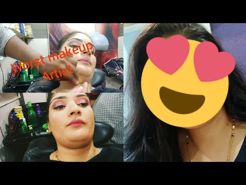 I Went to the Worst Reviewed Makeup Artist in India !! Reallty..( Mumbai)..😎