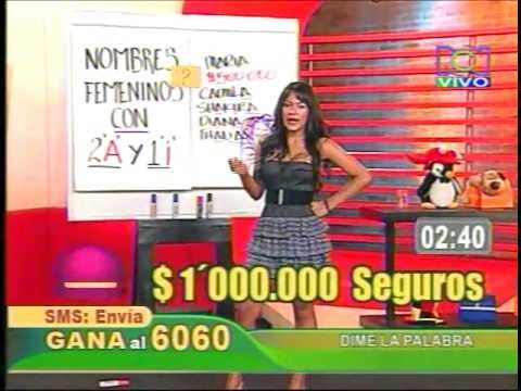 CATHERINE DÍAZ 2010- call tv RCN Show   (2 parte) thumbnail