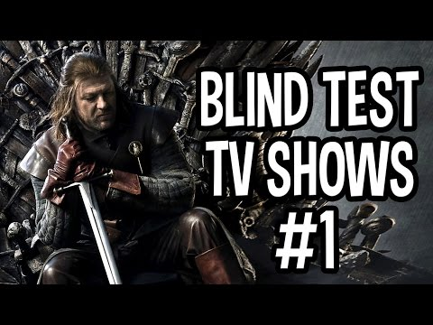 Blind Test TV Shows #1