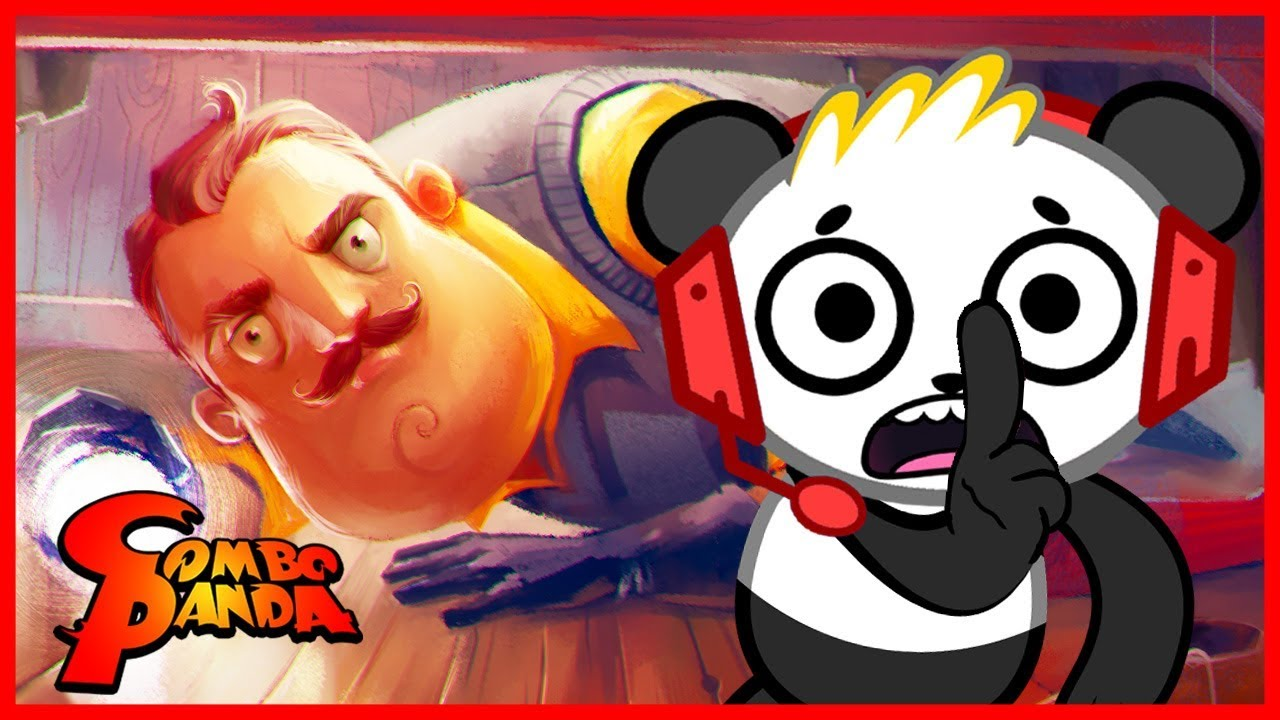 I Beat The Game Hello Neighbor Let S Play With Combo