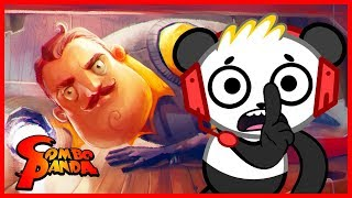 I Beat The Game !! Hello Neighbor Let's Play With Combo Panda