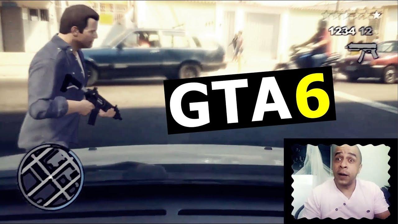 Gta  Grand Theft Auto Vi Graficos Foto Realisticos
