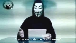 Anonymous Brasil   As 5 causas para lutarmos!! thumbnail