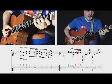 Super Mario Bros. Theme - TABS preview - fngerstyle guitar - Igor Presnyakov
