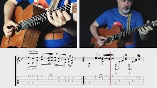 Super Mario Bros. Theme - TABS preview - fngerstyle guitar - Igor Presnyakov