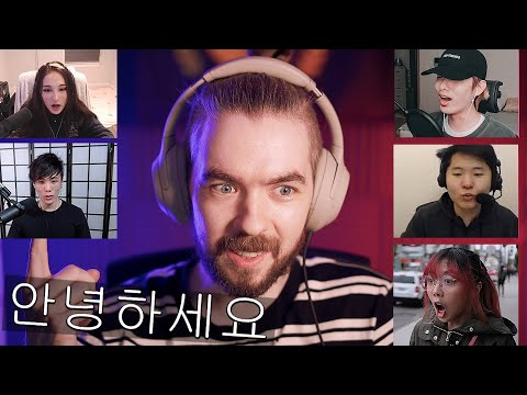 Jacksepticeye Speaks FLUENT Korean and SHOCKS OTHER STREAMERS