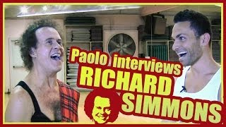 Exclusive Interview with Richard Simmons at Slimmons