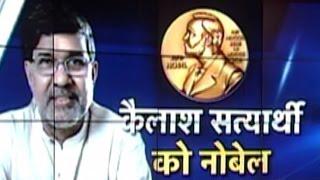 Nobel Peace Prize for Kailash Satyarthi, founder of
