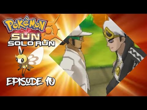Pokemon Sun Solo Run Episode 10 - Ghostly Pictures