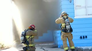 Riverside: Mobile Home Fire