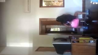 Leticia rodriguez bailando funky